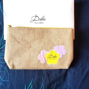 New in box Dolce & Gabbana cosmetic bag